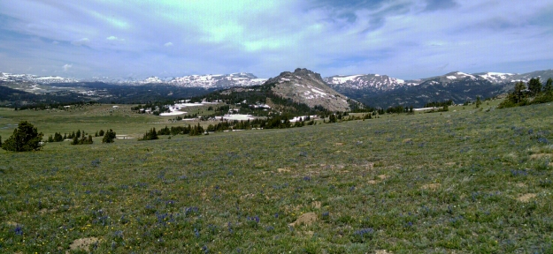 view of Sawtooth Mountain