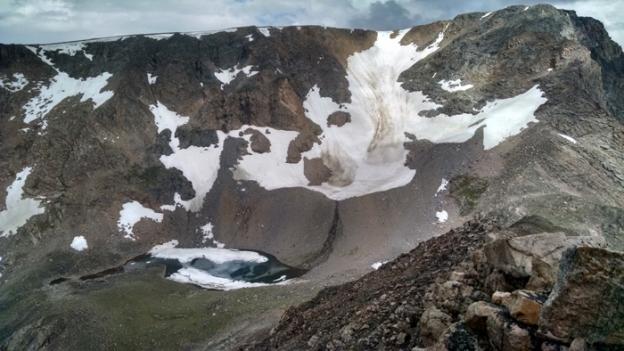 Frosty Lake, below Spirit Mountain