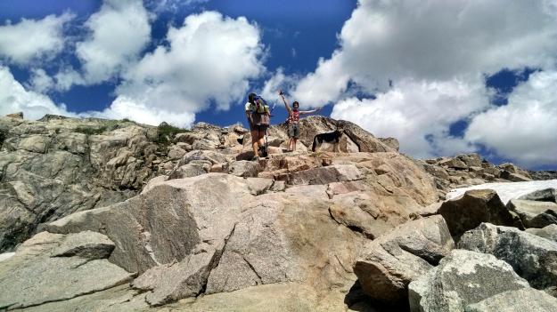 Fun on the rocks!