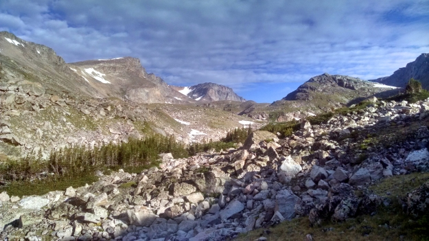 Metcalf on the left, Spirit Mountain on the right