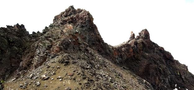 section of ridge